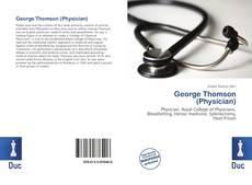 Portada del libro de George Thomson (Physician)