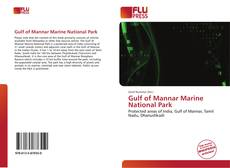 Copertina di Gulf of Mannar Marine National Park