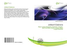 Обложка Jolbert Cabrera