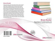 Bookcover of Bruce Ducker
