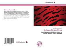 Bookcover of Kishtwar National Park