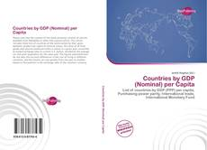 Buchcover von Countries by GDP (Nominal) per Capita