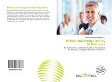 Bookcover of Brock University Faculty of Business