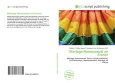 Bookcover of Mariage Homosexuel en France