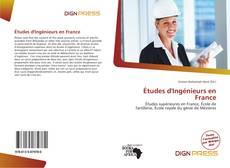 Études d'Ingénieurs en France kitap kapağı