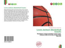 Couverture de Lewis Jackson (Basketball Coach)