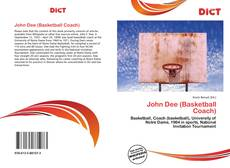 Bookcover of John Dee (Basketball Coach)