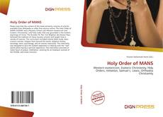 Capa do livro de Holy Order of MANS