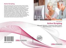 Bookcover of Active Scripting