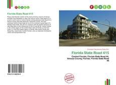 Обложка Florida State Road 415