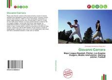 Bookcover of Giovanni Carrara
