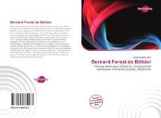 Copertina di Bernard Forest de Bélidor