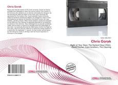 Buchcover von Chris Gorak