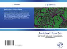 Couverture de Geostrategy in Central Asia