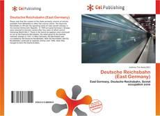 Capa do livro de Deutsche Reichsbahn (East Germany)