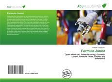 Capa do livro de Formula Junior
