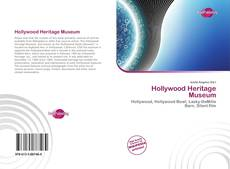 Bookcover of Hollywood Heritage Museum