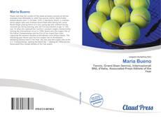Capa do livro de Maria Bueno