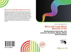 Capa do livro de Mary and Leigh Block Museum of Art