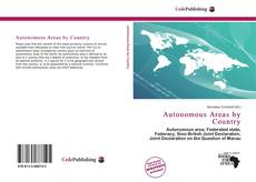 Bookcover of Autonomous Areas by Country