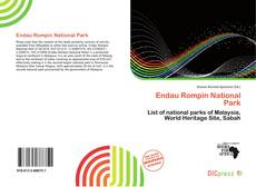 Bookcover of Endau Rompin National Park