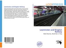 Bookcover of Leominster and Kington Railway