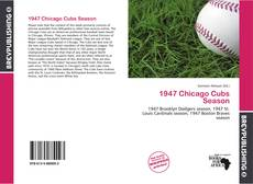 Обложка 1947 Chicago Cubs Season
