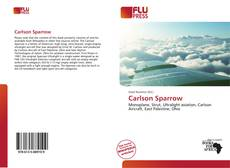 Bookcover of Carlson Sparrow