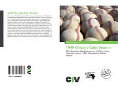 Portada del libro de 1949 Chicago Cubs Season