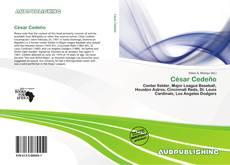 César Cedeño kitap kapağı