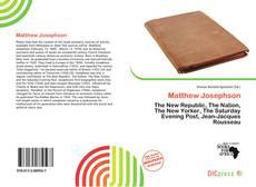 Couverture de Matthew Josephson