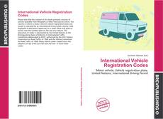Couverture de International Vehicle Registration Codes
