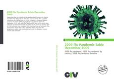 Bookcover of 2009 Flu Pandemic Table December 2009