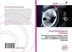 Bookcover of Ford Performance Vehicles