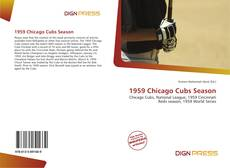 Couverture de 1959 Chicago Cubs Season