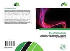 Bookcover of Elise Valmorbida