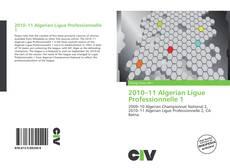 2010–11 Algerian Ligue Professionnelle 1 kitap kapağı