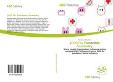 Capa do livro de 2009 Flu Pandemic Summary