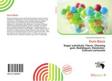 Bookcover of Gum Base