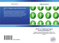 Обложка 2010–11 Algerian Ligue Professionnelle 2