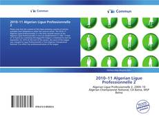 2010–11 Algerian Ligue Professionnelle 2 kitap kapağı