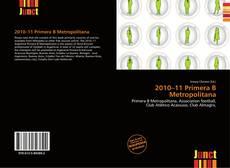 2010–11 Primera B Metropolitana的封面