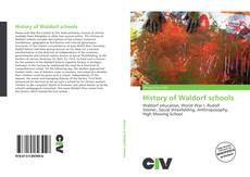 Bookcover of History of Waldorf schools