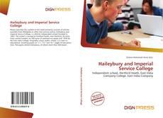 Buchcover von Haileybury and Imperial Service College