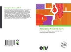 Bookcover of Horagolla National Park