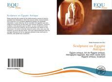 Portada del libro de Sculpture en Égypte Antique