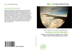 Bookcover of Cathay Pacific VR-HEU