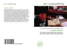 Bookcover of Lemon (Poet)