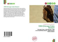 Copertina di 1994 Chicago Cubs Season