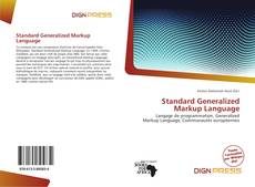 Couverture de Standard Generalized Markup Language